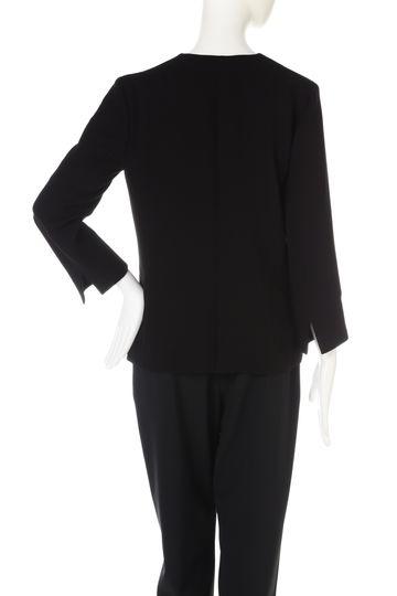 トリアセ混カラーレスジャケット