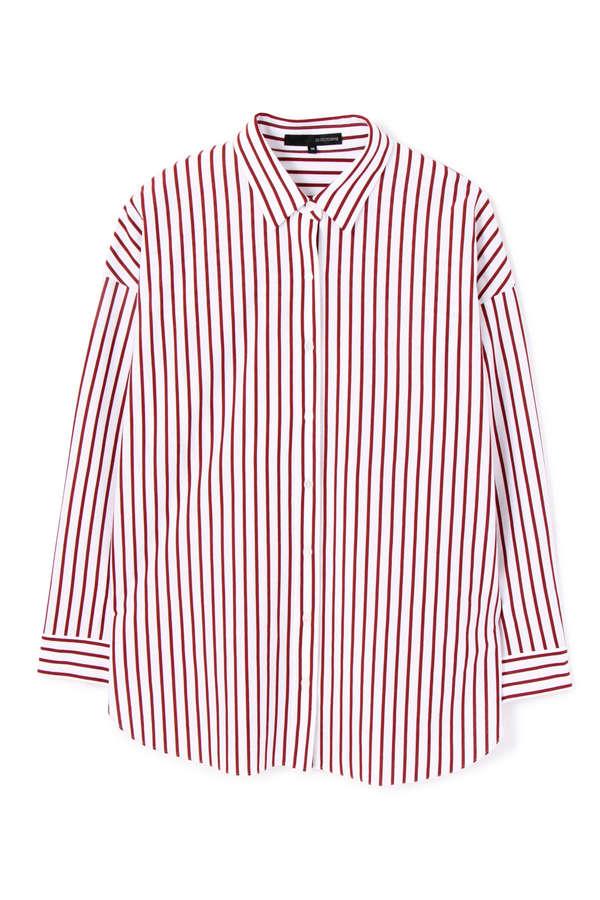 【先行予約 8月上旬 入荷予定】ストライプジャージーシャツ