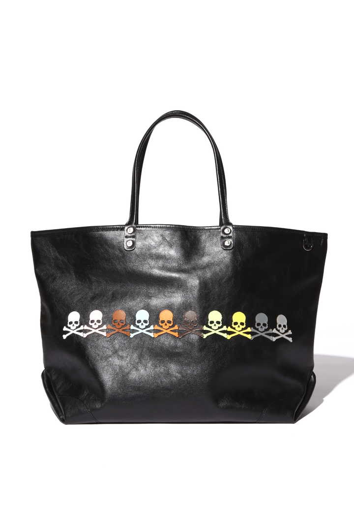 Skull Patched Tote