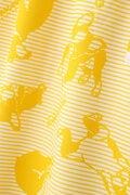 ボストンテリアボーダープリント 半袖 ポロワンピース (WOMENS METRO)
