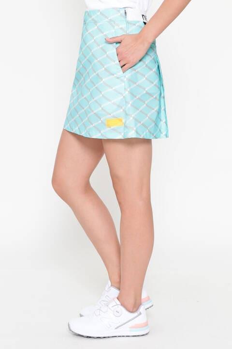 マルチレイヤージオメトリックプリント スカート (WOMENS SPORT)