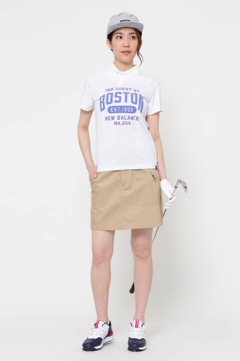 片染ストレッチツイル スカート (WOMENS METRO)
