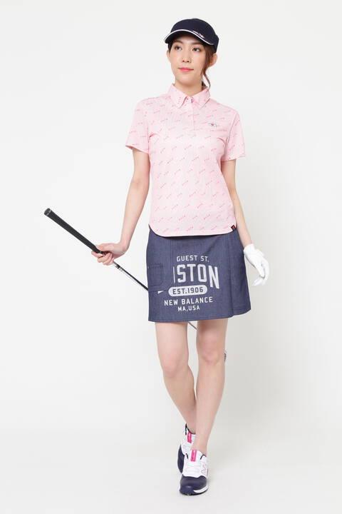 デニムライク 片染 ストレッチ ツイル キュロット スカート (WOMENS METRO)