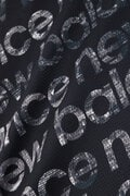ロゴタイププリント 半袖 メッシュ ポロシャツ<CITY SEQUENCE LOGO TYPOGRAPHY> (MENS SPORT)