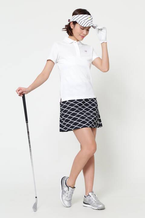 ストレッチパイナップルピケ 半袖 ポロシャツ (WOMENS SPORT)
