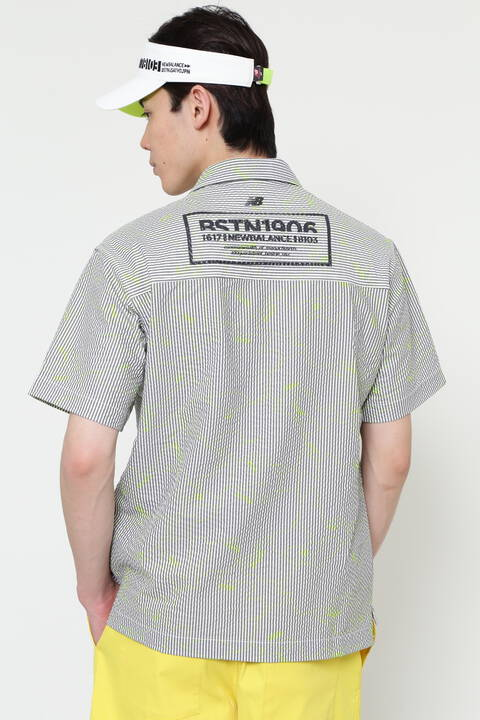 【直営店限定】半袖 オープン カラーシャツ (MENS)