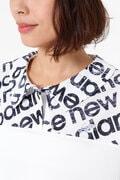ロゴタイププリント 半袖 カラーシャツ<CITY SEQUENCE LOGO TYPOGRAPHY> (WOMENS SPORT)