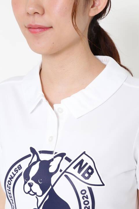 ボストンテリア 半袖 カラーシャツ (WOMENS METRO)