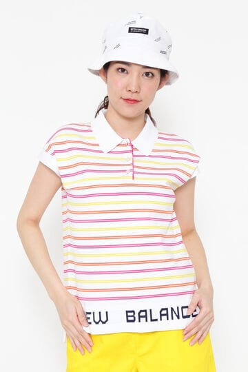 SLEEVELESS KNIT POLO SHIRT