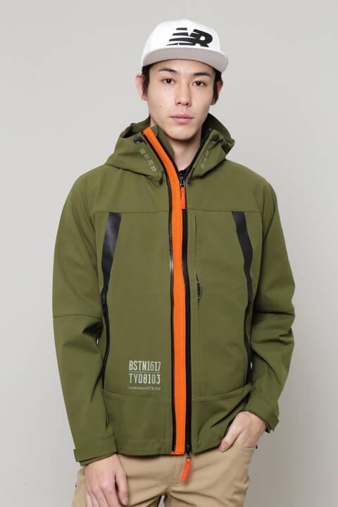 【直営店舗限定】フルジップ シェルパーカー (MENS)