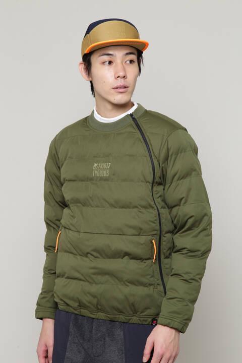【直営店舗限定】フルジップ パデッド スニード ジャケット (MENS)