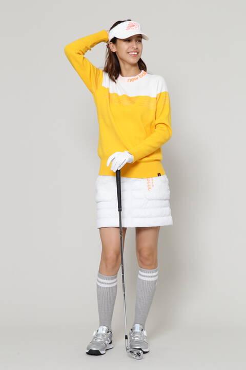 デジタルタイプカモフラージュエンボス ハイブリッド パデッド スカート (WOMENS SPORT)