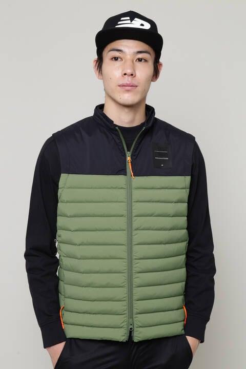 【直営店舗限定】フルジップ ダウンベスト (MENS)