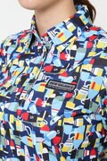 半袖 カラーシャツ (WOMENS)