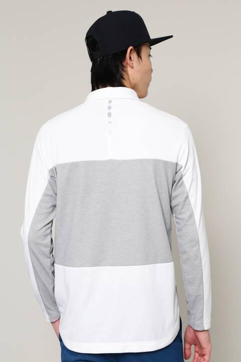 長袖 カラーシャツ (MENS SPORT)