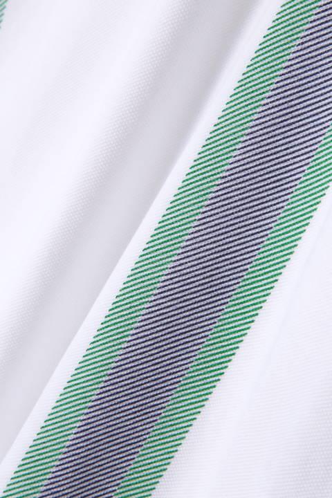 ポリカノコレジメンタルプリント 半袖スキッパーシャツ(WOMENS METRO)