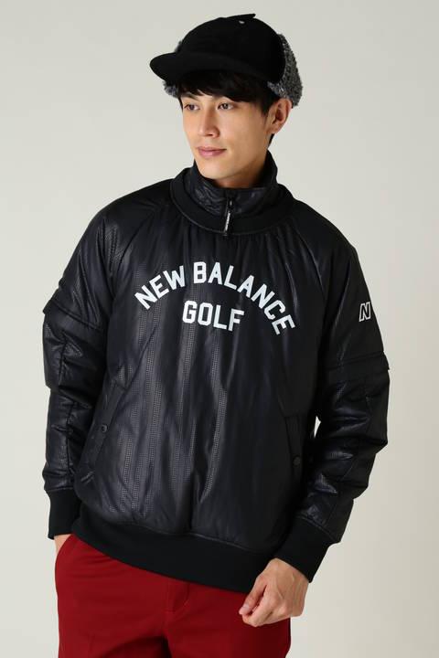 a008a124285b2 【new balance golf】中綿入り 千鳥ストライプエンボス スニードジャック (MENS METRO)