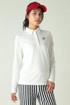 長袖 ボタンダウンカラーシャツ (WOMENS)