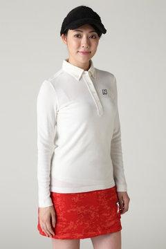 長袖ボタンダウン カラーシャツ (WOMENS METRO)