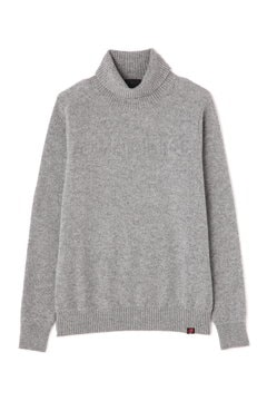 TURTLE NECK KNIT PULLOVER