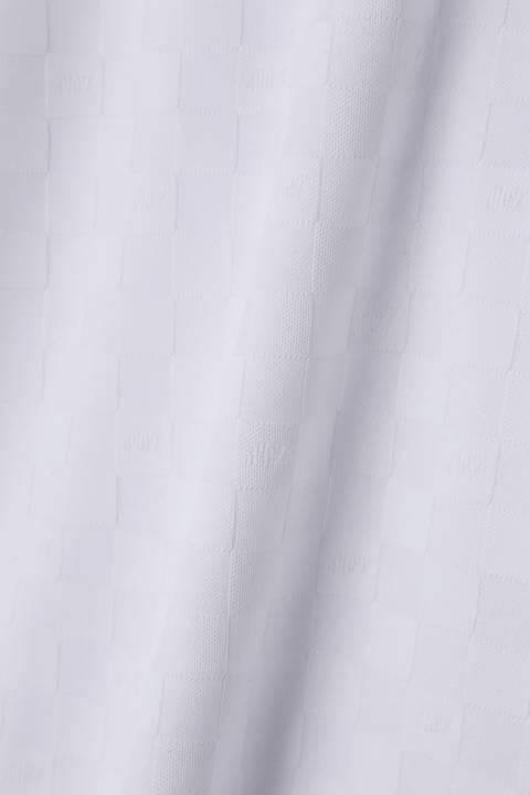 チェッカージャガード ウーリーフルダル半袖ポロシャツ (METRO MENS)