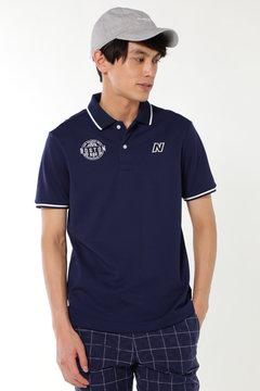 タスランスパンビッグカノコ 半袖ポロシャツ (METRO MENS)