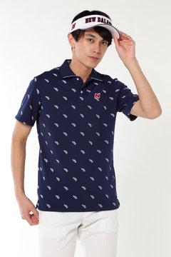 シューズモノグラム 半袖ポロシャツ (METRO MENS)
