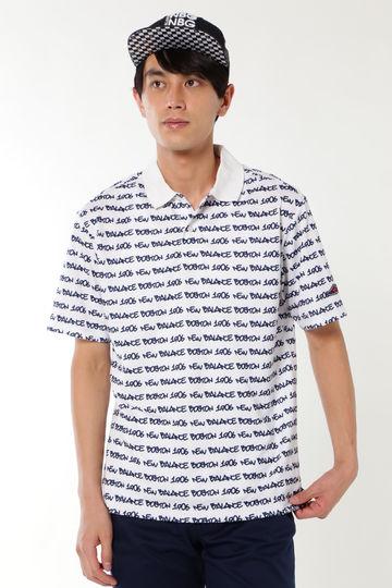 タギングロゴプリント 半袖ポロシャツ (METRO MENS)
