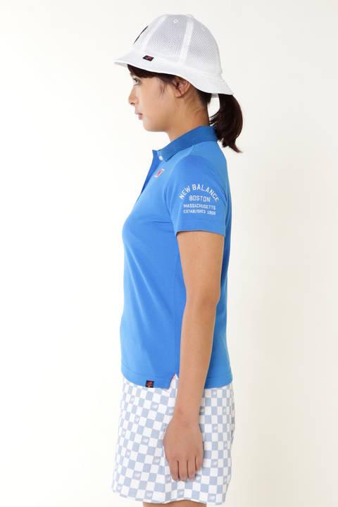 COOLMAX 半袖カノコポロシャツ (METRO WOMENS)