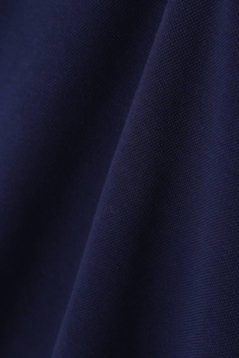 スパンカノコ 衿ボーダー 半袖ポロシャツ (WOMENS METRO)