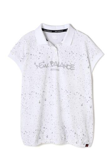 スプラッシュプリント スリーブレス ポロシャツ (WOMENS advanced pac)