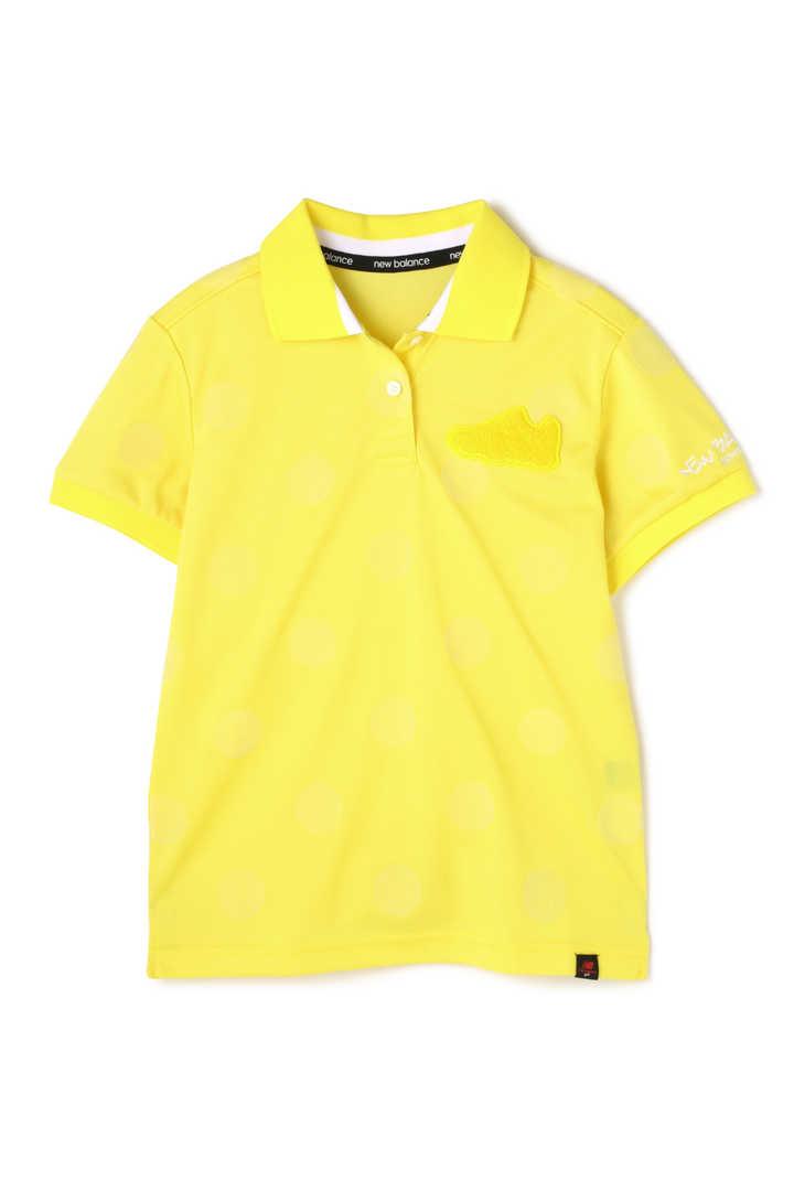 トーナルドットプリント スパンカノコ 半袖ポロシャツ (WOMENS advanced pac)