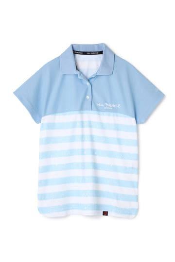 スプラッシュボーダープリント 半袖ポロシャツ (WOMENS advanced pac)