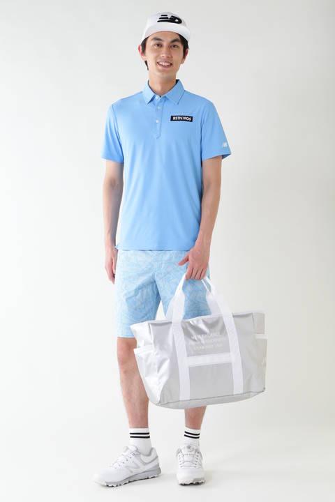コンピューターメッシュ 半袖ステッカージャガード カラーシャツ (METRO MENS)
