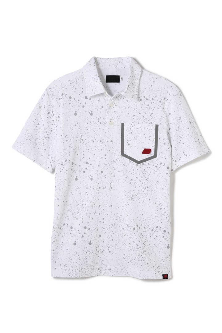 スプラッシュプリント 半袖 カラーシャツ (MENS advanced pac)
