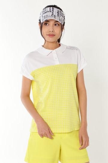 ウインドウプリント 半袖カラーシャツ (SPORT WOMENS)