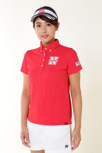 タックカノコ 半袖ボタンダウン カラーシャツ (METRO WOMENS)