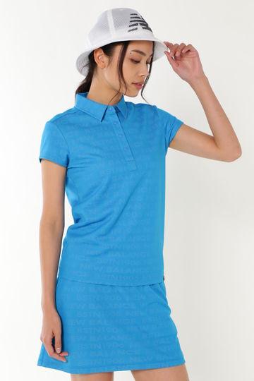 タイポグラフィジャガード 半袖カットシャツ (SPORT WOMENS)