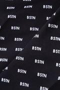 BSTNモノグラムプリント タスランSY ストレッチツイルパンツ (MENS METRO)