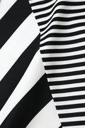 マルチボーダー ストレッチツイル ミニスカート  (WOMENS METRO)