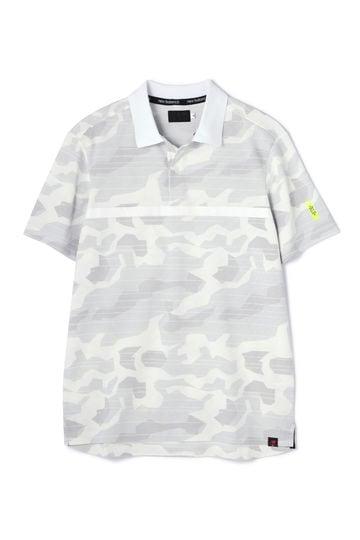 カモフラージュプリント タックカノコ 半袖 ポロシャツ (MENS advanced pac)