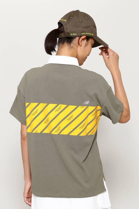 スパン天竺 半袖 カラーシャツ (WOMENS advanced pac)