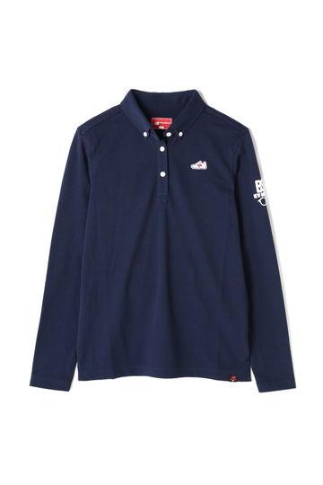カノコ ボタンダウン 長袖 カラーシャツ (WOMENS METRO)