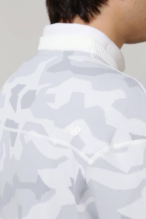 カモフラージュ ダブルジャガード クルーネック ニット プルオーバー (MENS advanced pac)