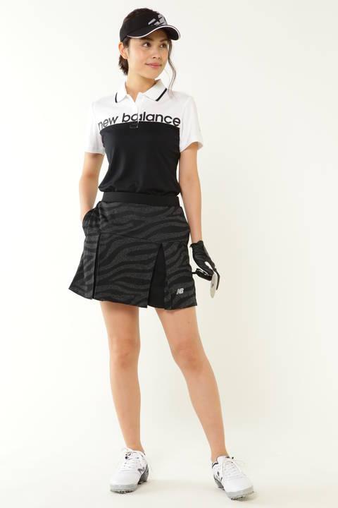 杢×カチオンミックス ゼブラジャガード スカート (WOMENS SPORT)