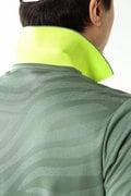 ゼブラジャガード 半袖 ポロシャツ (MENS SPORT)