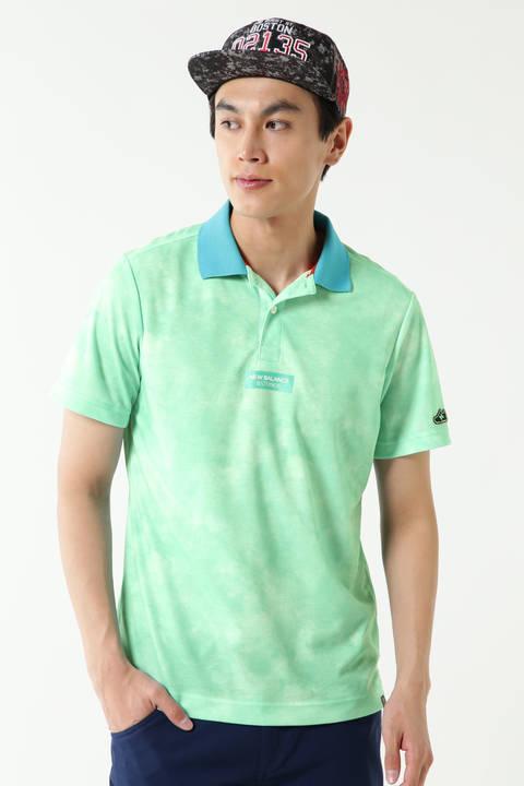 スパンカノコ タイダイプリント 半袖ポロシャツ (MENS METRO)