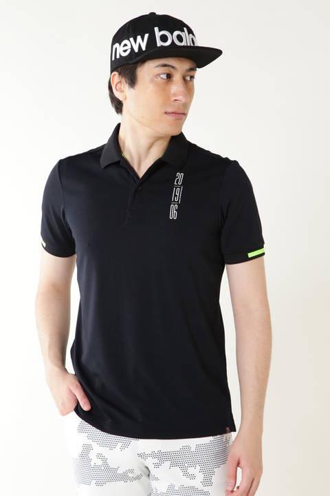 スパン天竺 半袖 ポロシャツ (MENS advanced pac)