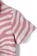 ゼブラプリント  半袖ポロシャツ (WOMENS SPORT)