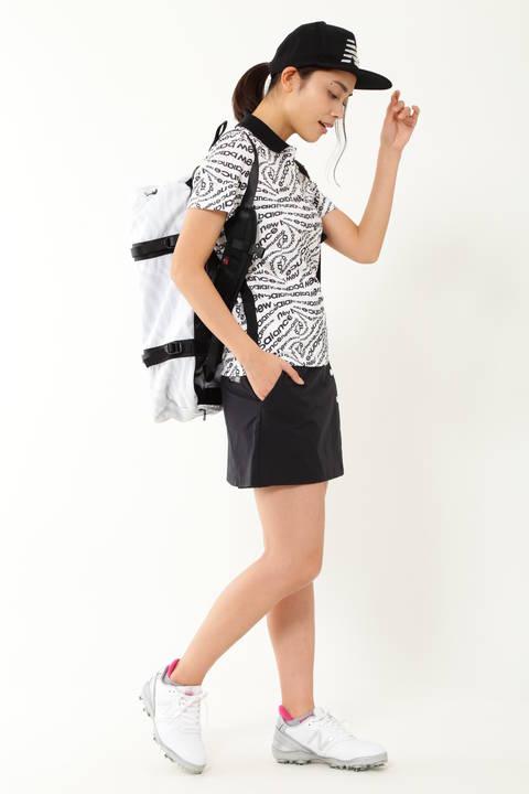 タイポゼブラプリント 半袖ポロシャツ (WOMENS SPORT)